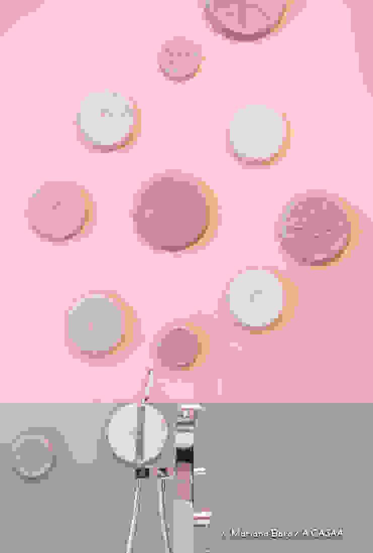 Suite Candy Colors por Jean Felix Arquitetura Minimalista Tijolo