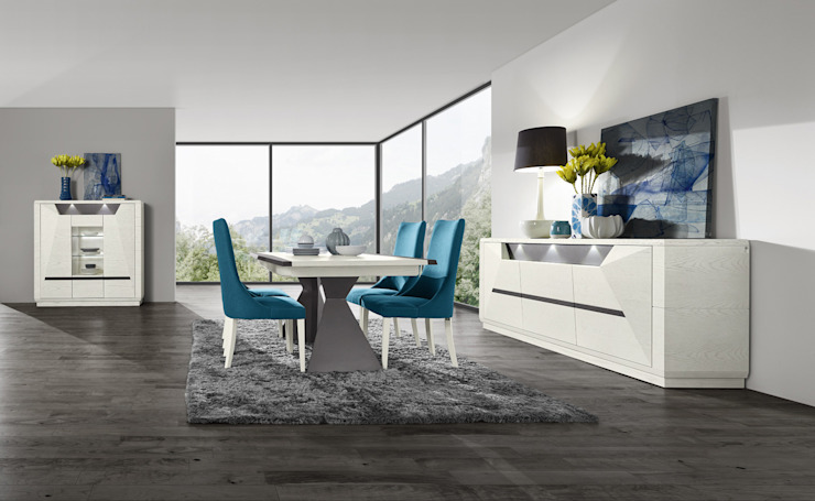 Mobiliário de Sala de Jantar Dining Room Furniture www.intense-mobiliario.com Diamant DM7 http://intense-mobiliario.com/product.php?id_product=9827 por Intense mobiliário e interiores; Moderno