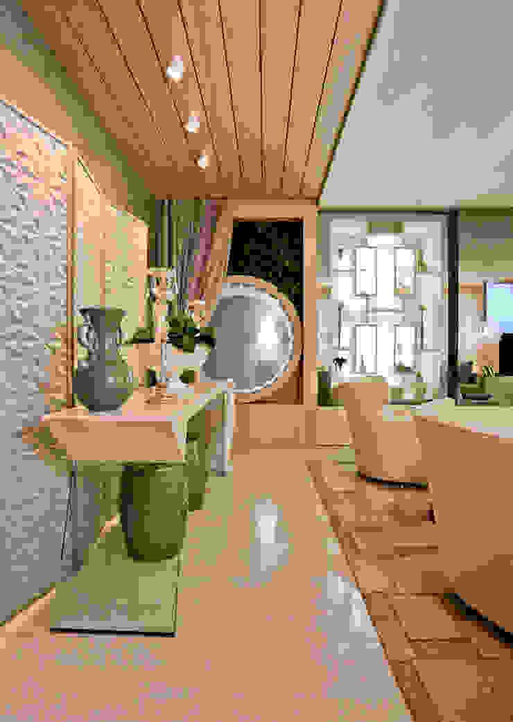 THE INTIMATE LIVING FOR US. por maison arquitetura + interiores Moderno MDF