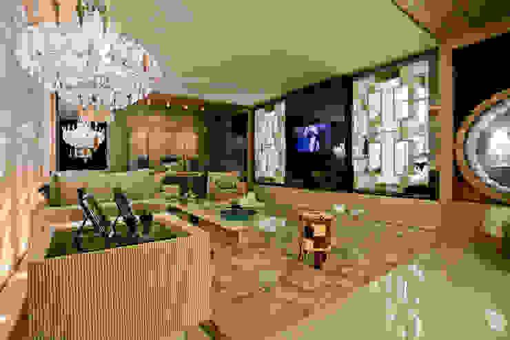 THE INTIMATE LIVING FOR US por maison arquitetura + interiores Moderno Mármore