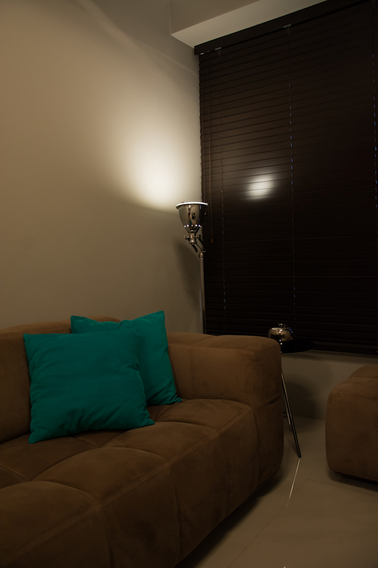 recantos do apartamento Salas de estar minimalistas por arquiteta aclaene de mello Minimalista