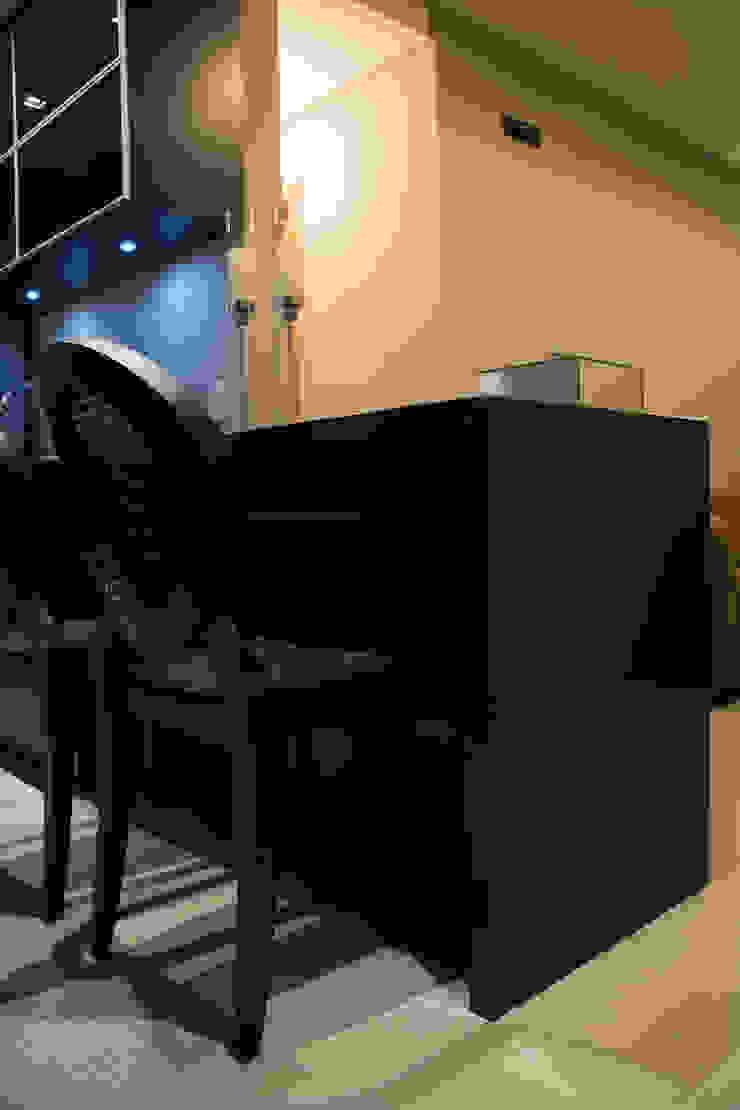 recantos do apartamento Salas de jantar minimalistas por arquiteta aclaene de mello Minimalista