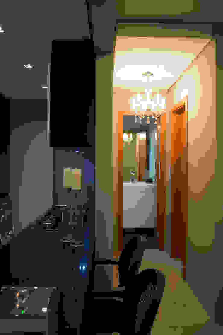 detalhes Corredores, halls e escadas minimalistas por arquiteta aclaene de mello Minimalista