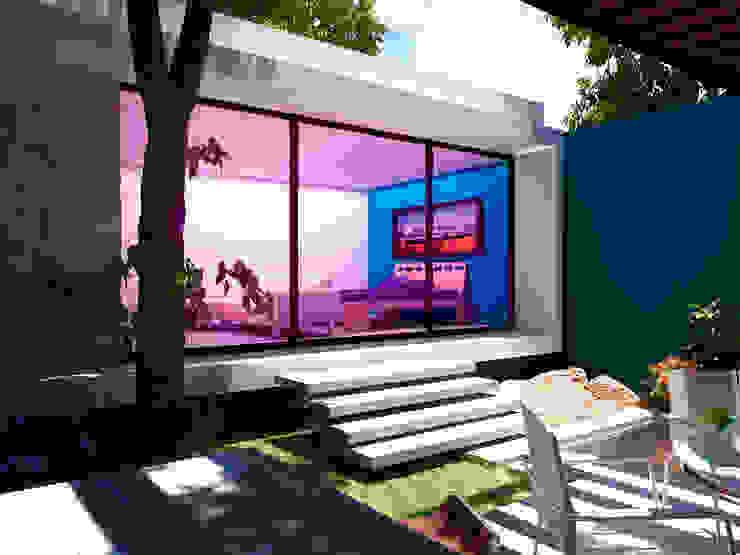 Habitación Principal Dormitorios modernos de Esquiliano Arqs Moderno