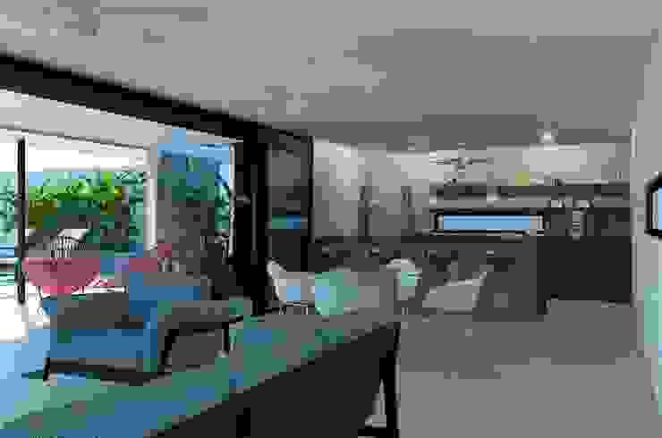 Sala/Comedor/Cocina Cocinas modernas de Esquiliano Arqs Moderno