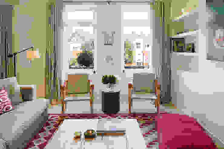 BIDDULPH MANSIONS, MAIDA VALE Modern Living Room by Ardesia Design Modern
