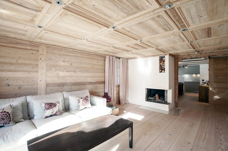 GSTAAD, SWITZERLAND by Ardesia Design Country Solid Wood Multicolored