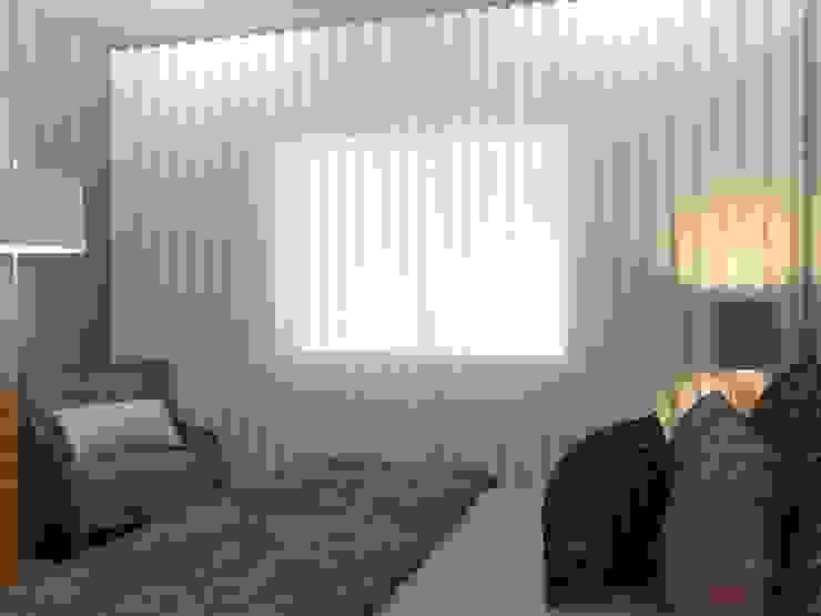 Quarto de Casal Quartos modernos por Palma Interiores Moderno