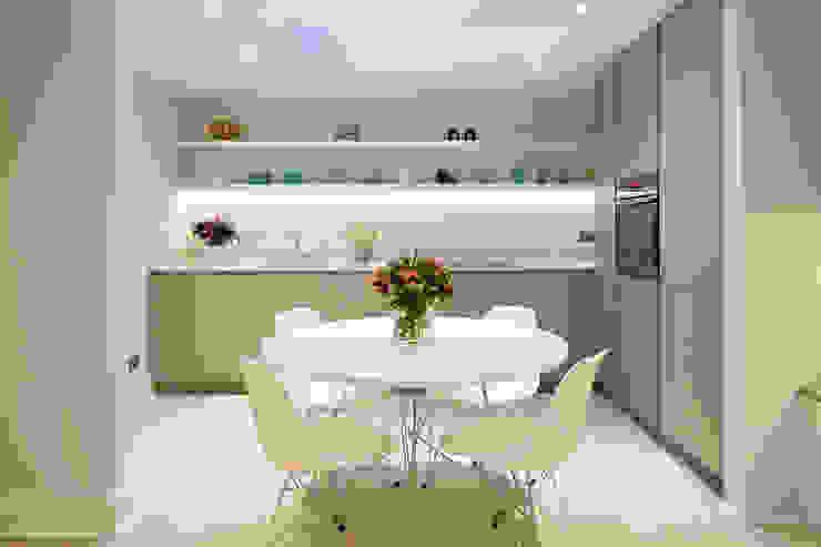 CLANRICARDE GARDENS II, NOTTING HILL Ardesia Design Cozinhas minimalistas