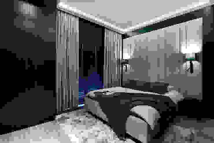 Modern style bedroom by FLOW Franiak&Caturowa Modern