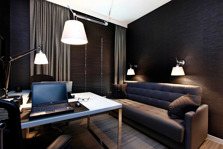 Modern study/office by FLOW Franiak&Caturowa Modern