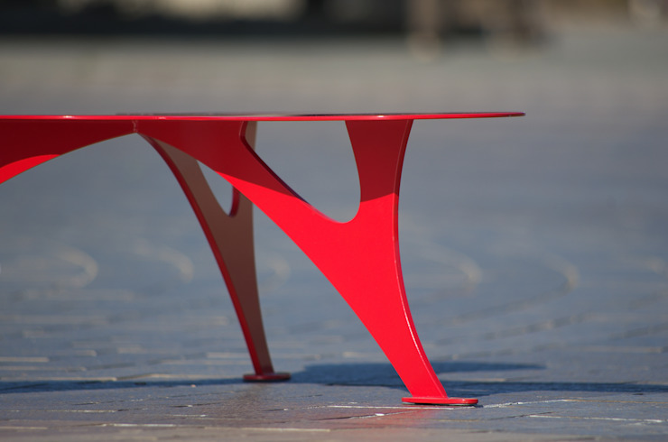 STEEL LEAF: SPACE DESIGN STUDIOが手掛けた折衷的なです。,オリジナル 鉄/鋼