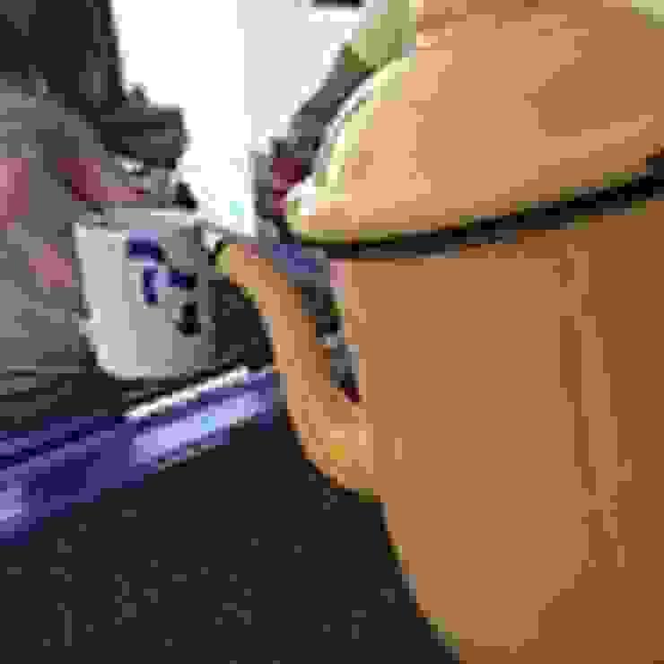 Café no bule por JERAU Projetos Sustentáveis Rústico Ferro/Aço