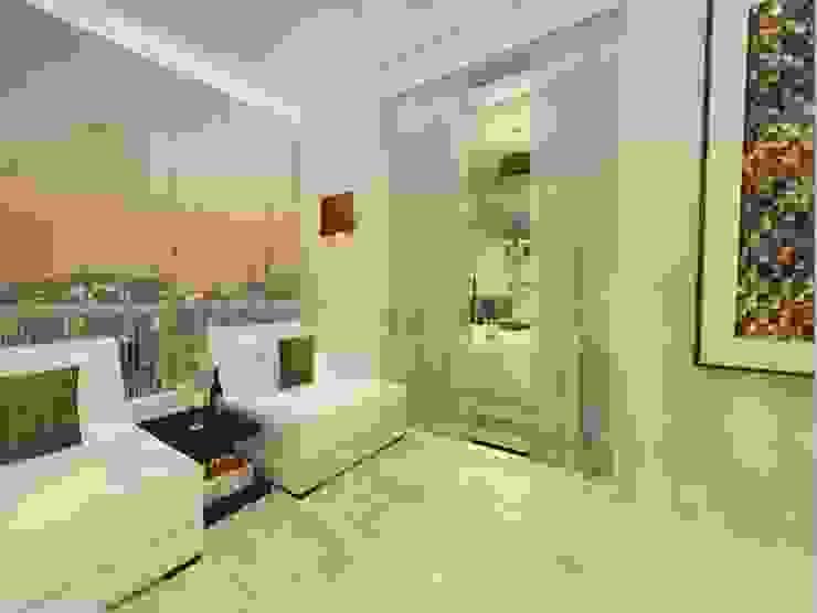 Varanda Suíte Master Varandas, alpendres e terraços modernos por Spazzio Design Moderno