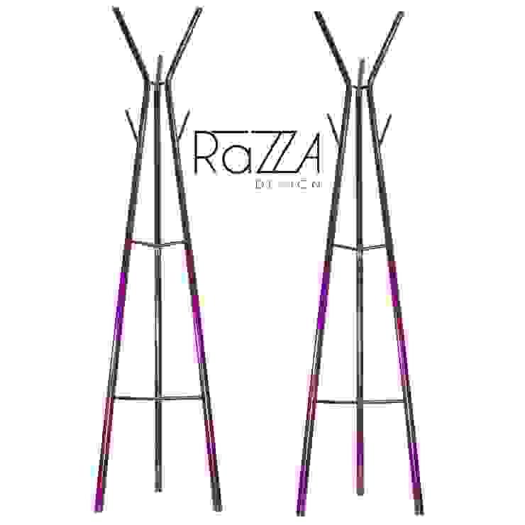 Perchero Arbol:  de estilo industrial por Razza Design, Industrial Metal