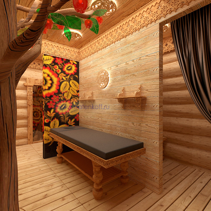 Eclectic style spa by homify Eclectic Wood Wood effect