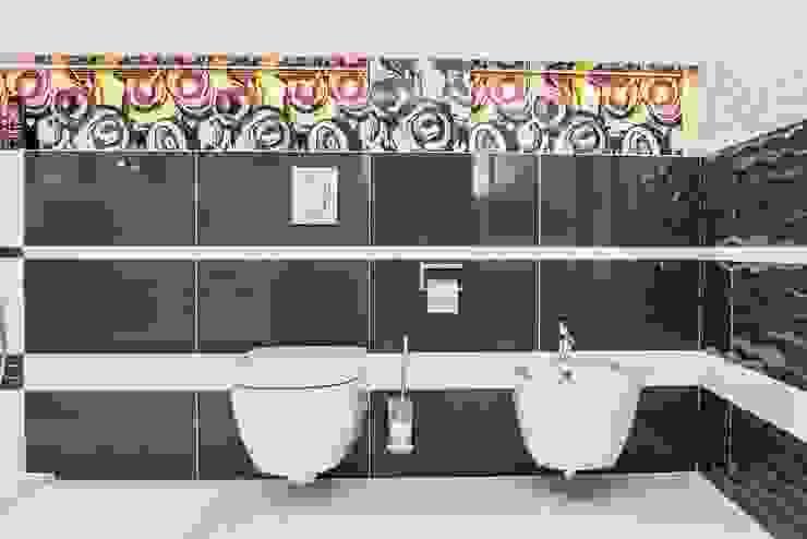 HOLADOM Ewa Korolczuk Studio Architektury i Wnętrz Salle de bain minimaliste