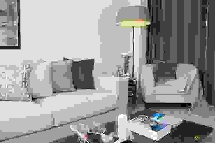 Contemporary Living room Katie Malik Interiors Modern living room