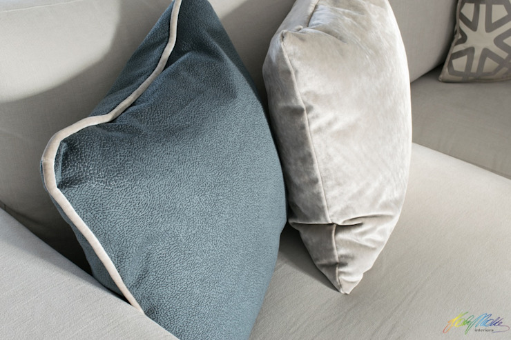 Bespoke Scatter Cushions Katie Malik Interiors Living roomAccessories & decoration