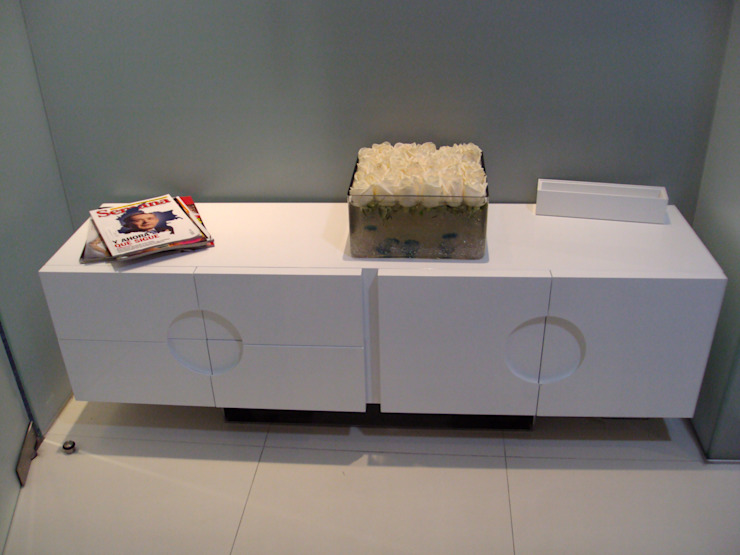 SPA- Muebles de Mako laboratorio Moderno Madera Acabado en madera