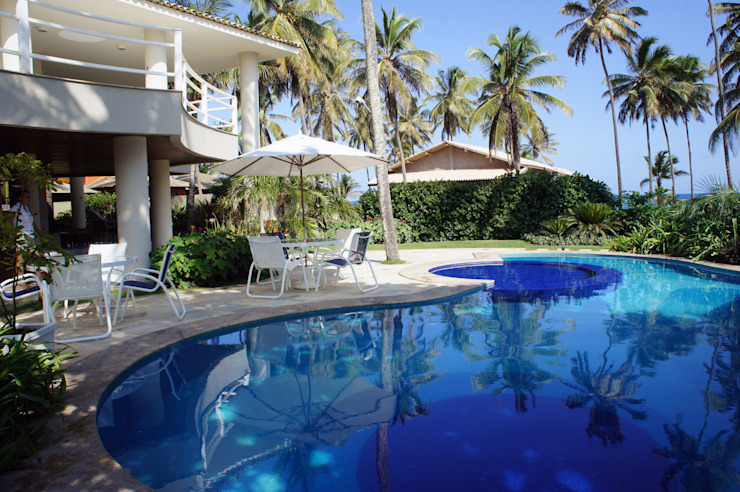 Jardines de estilo tropical de Proflora Tropical