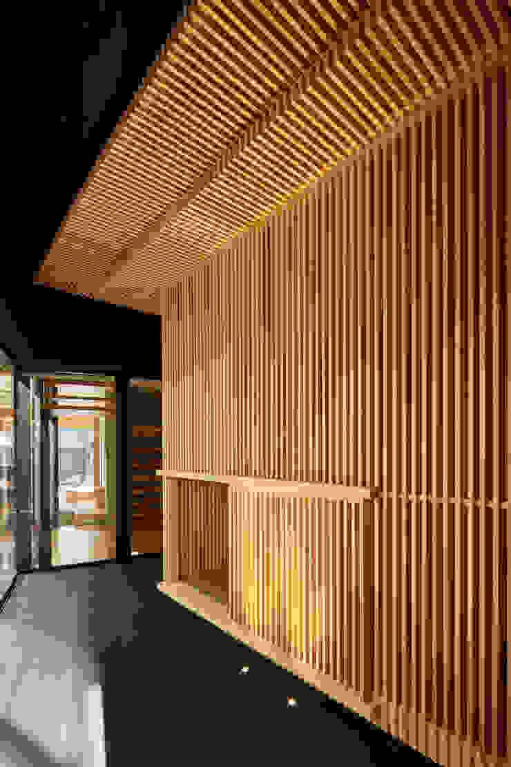 移動茶室 ミニマルデザインの 多目的室 の 梶浦博昭環境建築設計事務所 ミニマル 木 木目調