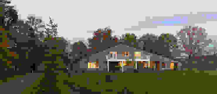 Country style house by De Zwarte Hond Country Bricks
