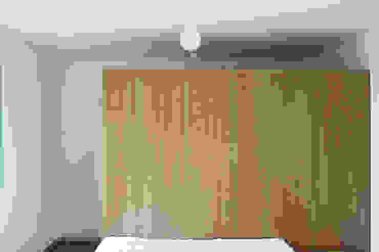 azul Quartos minimalistas por crónicas do habitar Minimalista