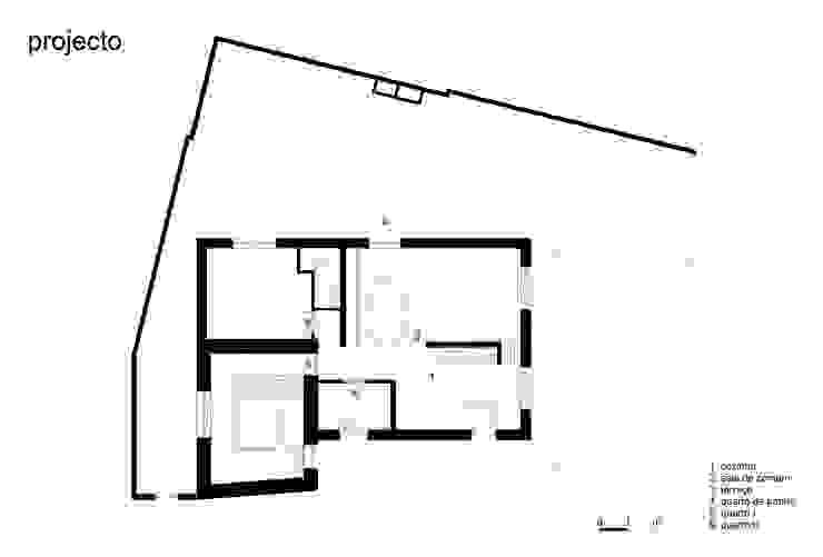 azul Paredes e pisos minimalistas por crónicas do habitar Minimalista