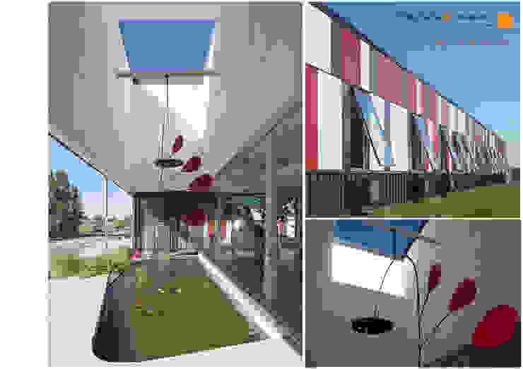 Oficinas Sotic S.A. Estudios y oficinas industriales de Paschetta&Cavallero Arquitectos Industrial