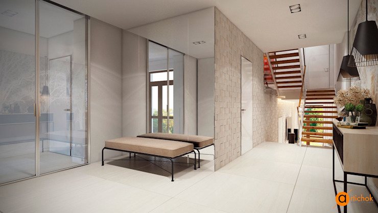 Salones escandinavos de Artichok Design Escandinavo