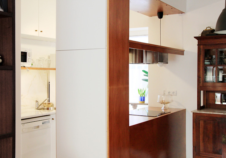 homify Kitchen Wood effect