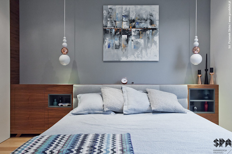 Modern Yatak Odası homify Modern