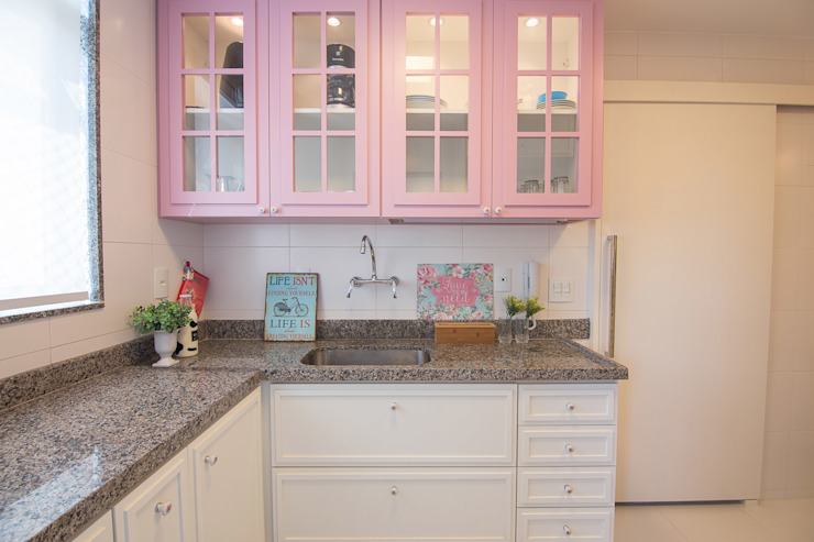 Cocinas de estilo clásico de Duplex Interiores Clásico