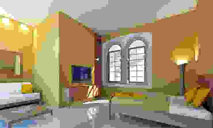 SH 62 Dormitorios coloniales de Esquiliano Arqs Colonial
