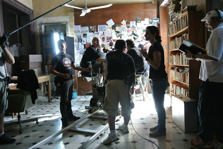 ARQUITECTURA CINEMATOGRAFICA <q>The Mask of Gonzalo Guerrero</q> Casas eclécticas de Esquiliano Arqs Ecléctico