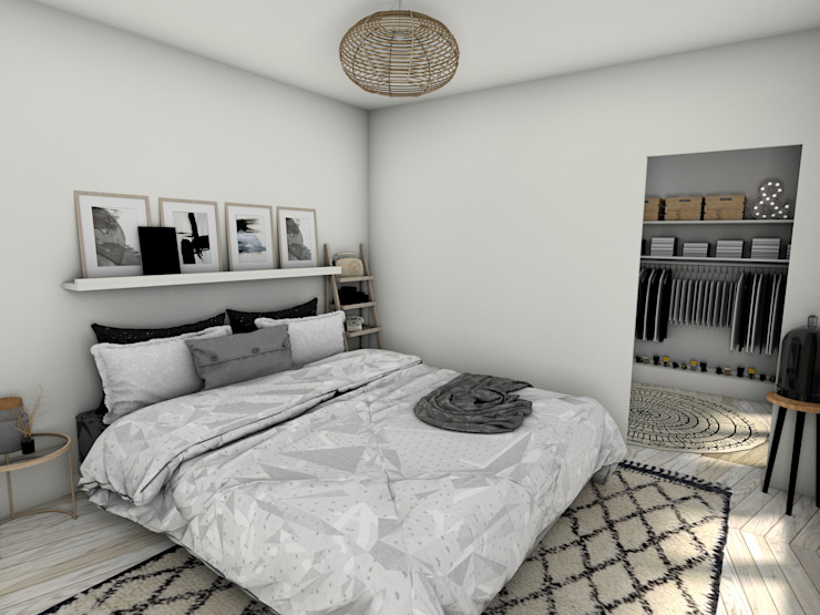 Suite Parentale Chambre moderne par Dem Design Moderne