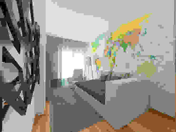 Chambre d'enfant moderne par Spacemakers Moderne