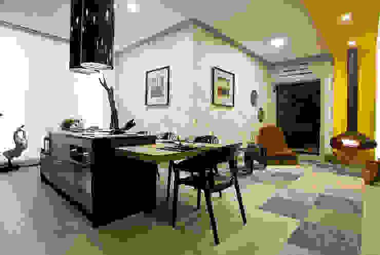 根據 Samira Jarouche Arquitetura & Interiores 隨意取材風