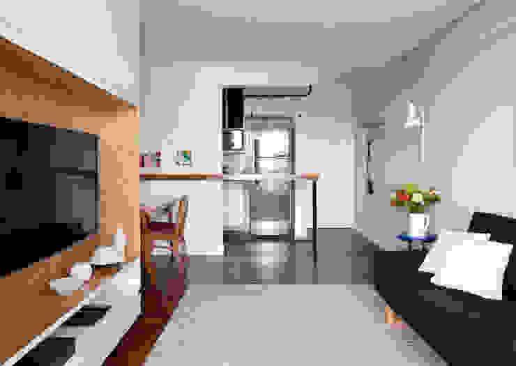 INÁ Arquitetura Cocinas de estilo escandinavo