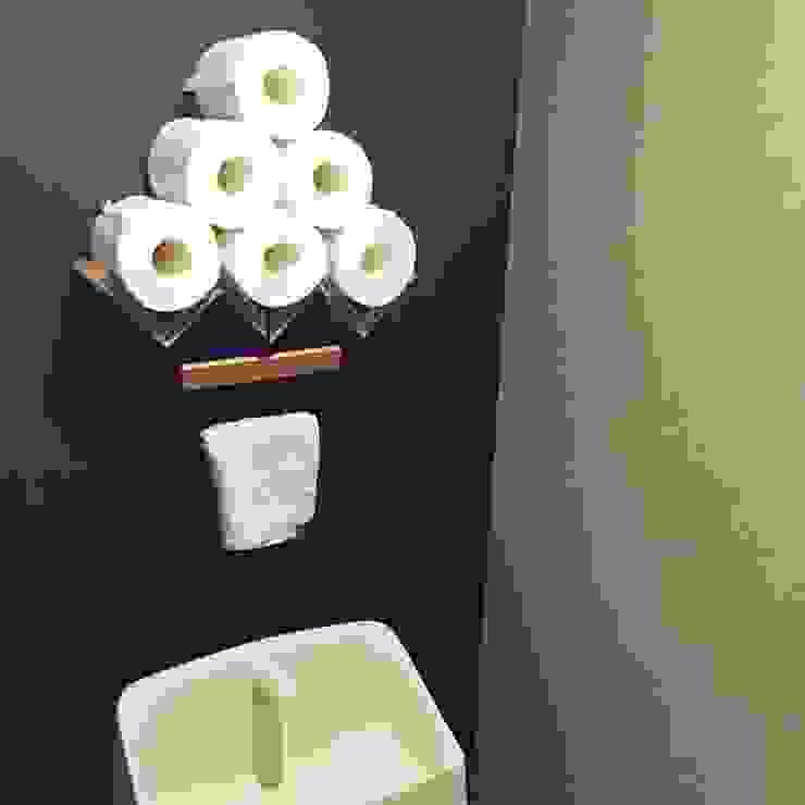 お一人様の贅沢 ミニマルスタイルの お風呂・バスルーム の 高嶋設計事務所/恵星建設株式会社 ミニマル
