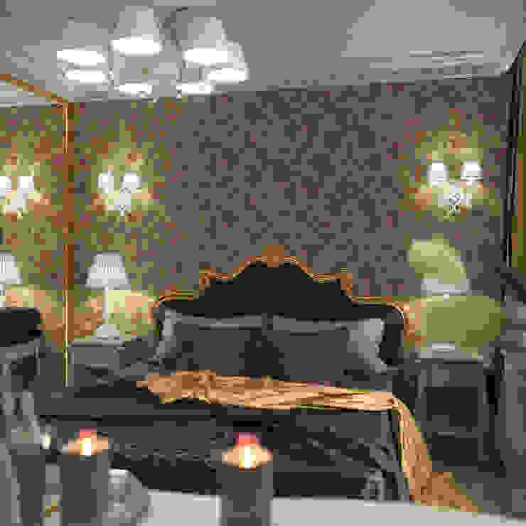 Дизайн квартиры в классическом стиле. Ростов-на-Дону. Спальня в классическом стиле от Студия Архитектуры и Дизайна Алисы Бароновой Классический