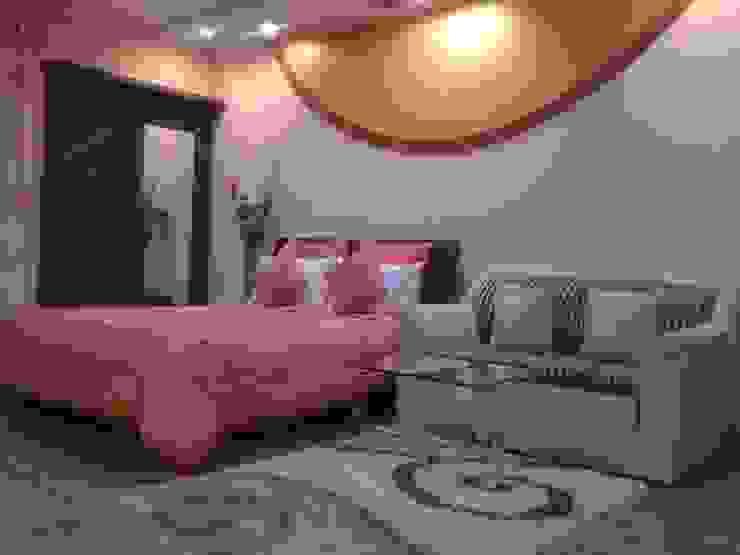 STUDIO APARTMENT IN NAVI MUMBAI Modern style bedroom by Alaya D'decor Modern Plywood