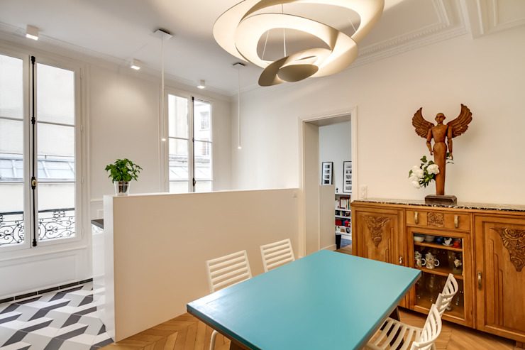 Dining room by ATELIER FB,