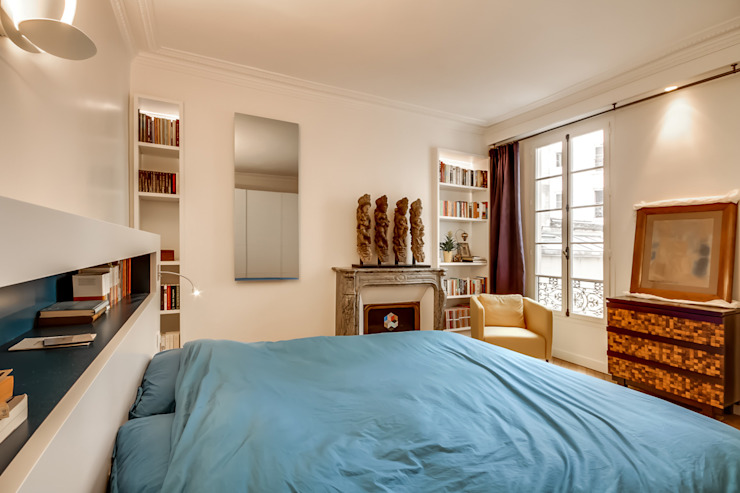 Chambre: Salon de style  par ATELIER FB, Moderne