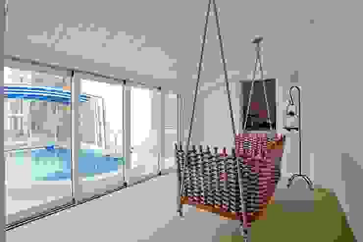 Балкон и терраса в стиле модерн от Studio Olmeda Arch. Marco Amedeo Модерн