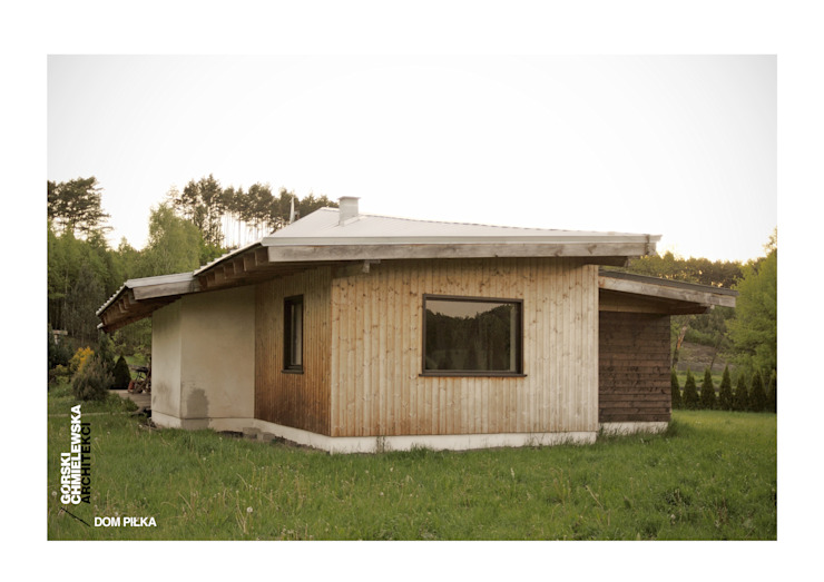 DOM PIŁKA Nowoczesne domy od GÓRSKI CHMIELEWSKA ARCHITEKCI Nowoczesny