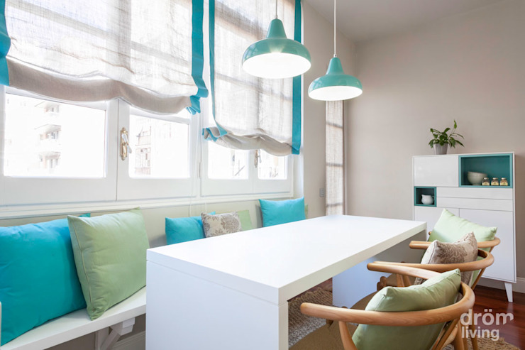 Dining room by Dröm Living, Minimalist