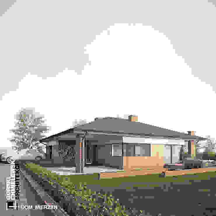 Casas modernas de GÓRSKI CHMIELEWSKA ARCHITEKCI Moderno