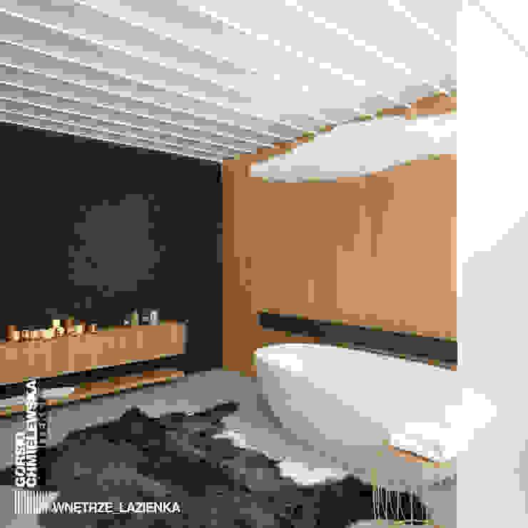 ŁAZIENKA SZCZECIN: styl , w kategorii Łazienka zaprojektowany przez GÓRSKI CHMIELEWSKA ARCHITEKCI,Nowoczesny